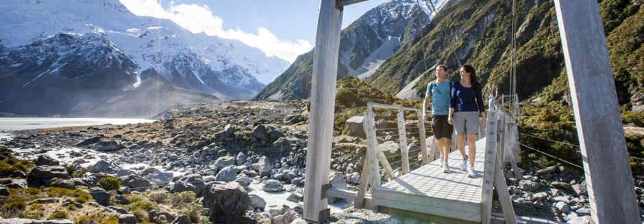 Mountains - hooker valley