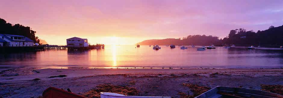 sunrise - stewart island