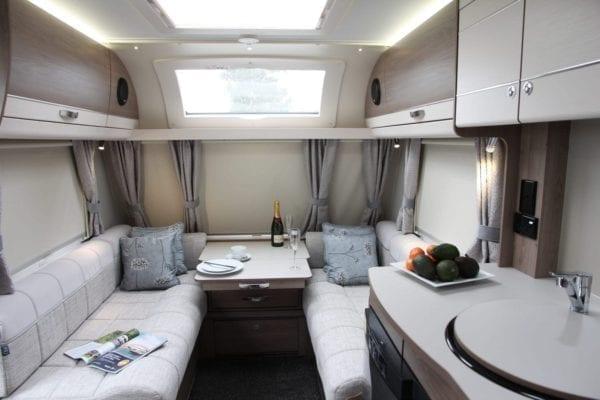Casita lounge 4 berth caravan