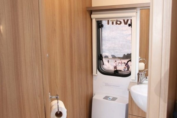 Rimini Toilet 4 berth caravan