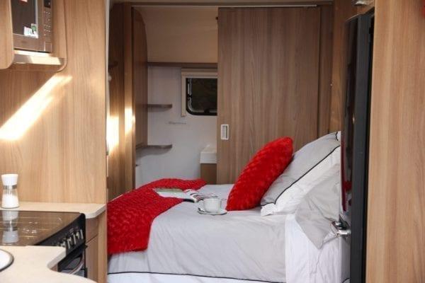 bed bailey pegasus brindisi 4 berth caravan