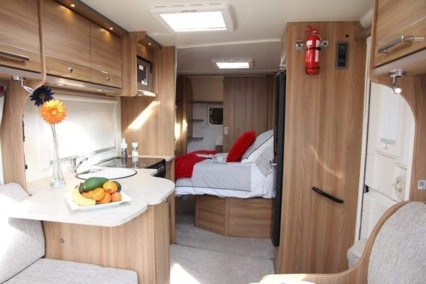 lounge and bed bailey pegasus 4 berth caravan