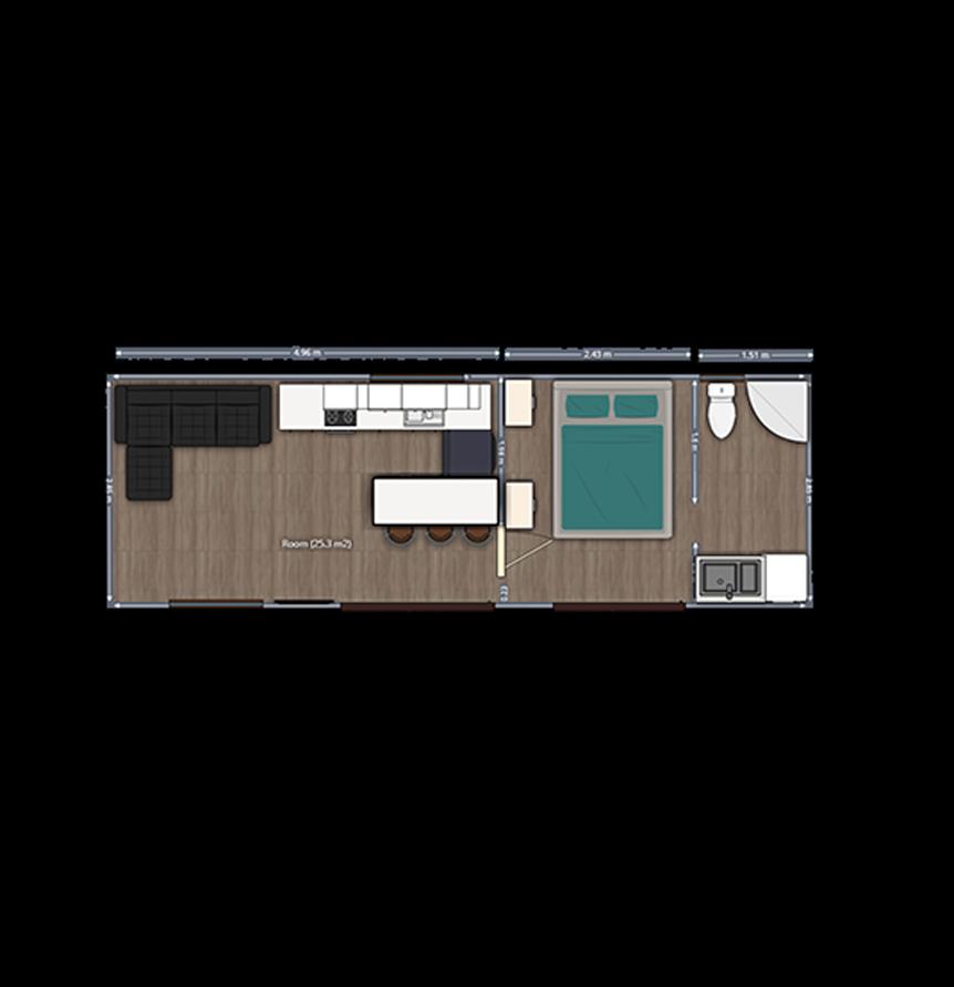 The Delwyn TH 1 Bedroom